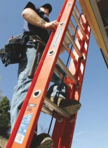 24 ft. Fiberglass Extension Ladder