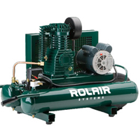 Rolair Twin Tank Compressor