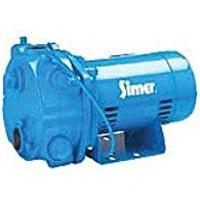 simer plastic blue centrifugal pump