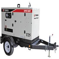 Terex Super Quiet T25 Generator