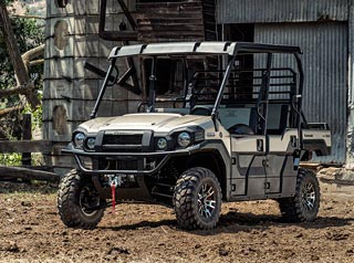 Kawasaki Utility Vehicle 4X4 6-Seater PRO-FXT