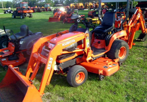 Kubota BX23 Backhoe Loader Tractor