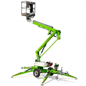 Nifty TM34T tow-behind cherry picker