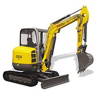 Wacker 38Z3 Mini Excavator