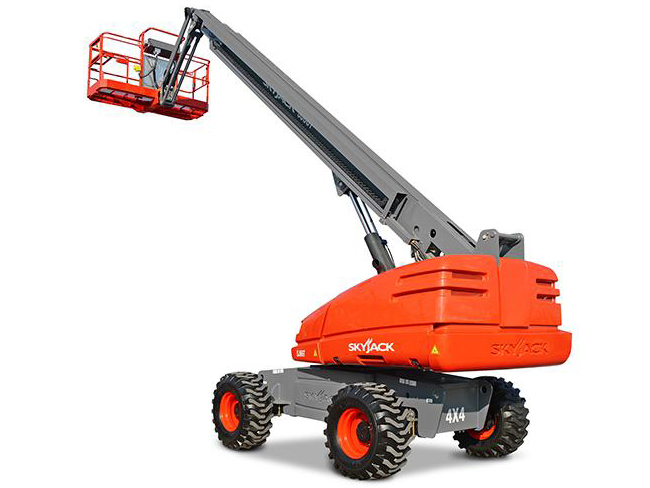 Skyjack Telescopic Boom Lift Model SJ61T