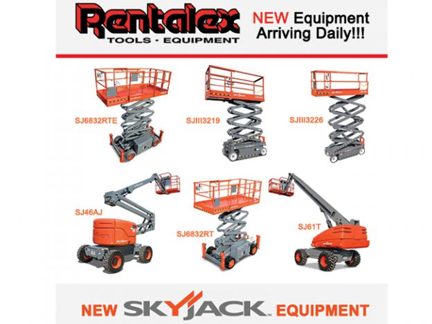 Rentalex Tampa - Skyjack Equipment