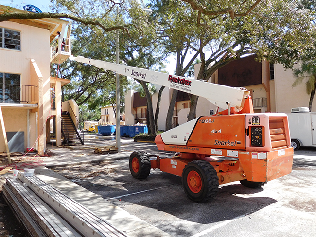 San Marin Apartments in Tampa – Construction Project