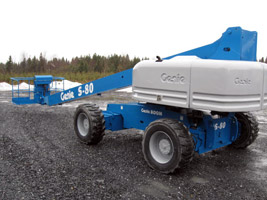 Genie S-80 Telescopic Boomlift