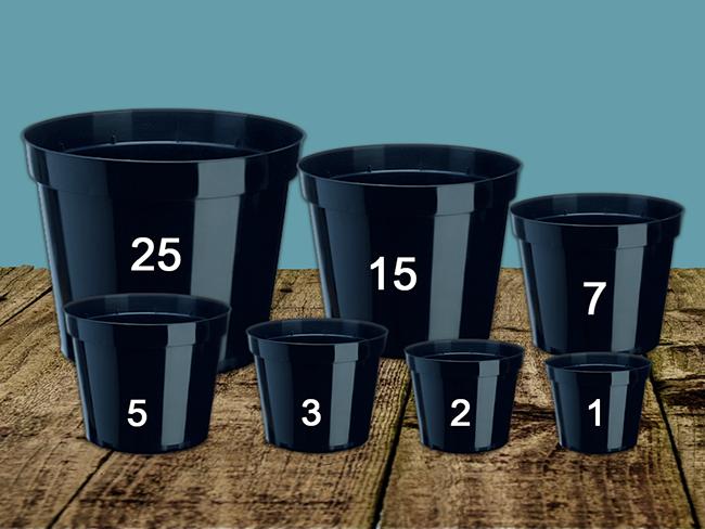 Pot Sizes – General Standard Sizes
