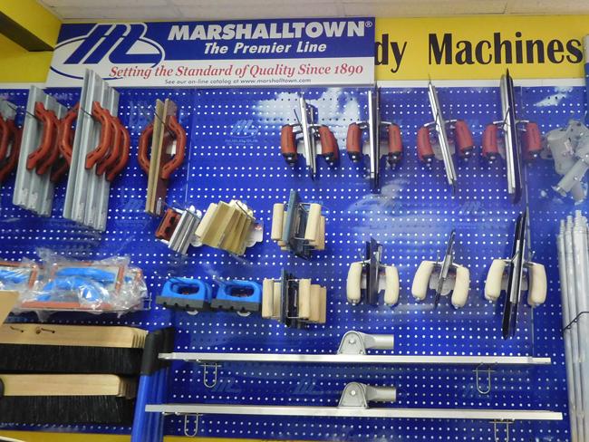 MarshallTown Concrete Tools