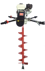 Ground Hog 2-Man 5HP Gas Auger