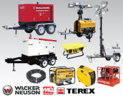 Generators, Welders & Lighting