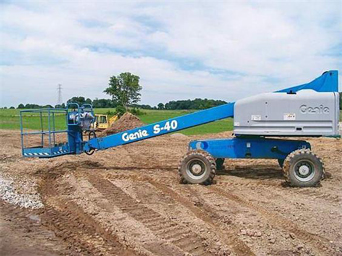 Genie Telescopic S-40 Boomlift