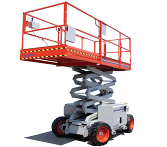 Skyjack Rough Terrain Scissor Lift Model SJ6832 RT