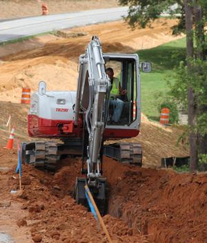 Takeuchi TB290 Excavator Compactor