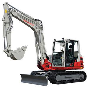Takeuchi TB290 Compact Excavator