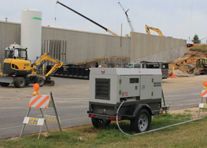 Wacker G25 Mobile Generator