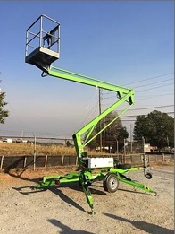 TM34 Trailer Mounted Cherry Picker