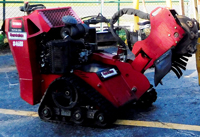 Toro Dingo STX26 Track Stump Grinder