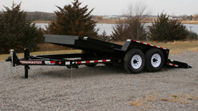 Tow Master T-12DT Drop-Deck Tilt Trailer