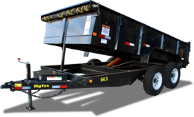 14LX Heavy Duty Tandem Axle Extra Wide Dump
