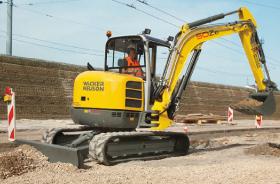 Wacker 50Z3 Compact Excavator