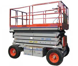 Skyjack SJ7135 Four-Wheel Scissor Lift
