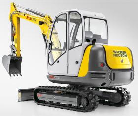 Wacker 3503 Mini Track Excavator