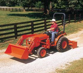 Kubota 30HP 4X4 L2800D Tractor W/Loader - Rentalex