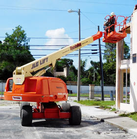 JLG 400S Telescopic Boomlift