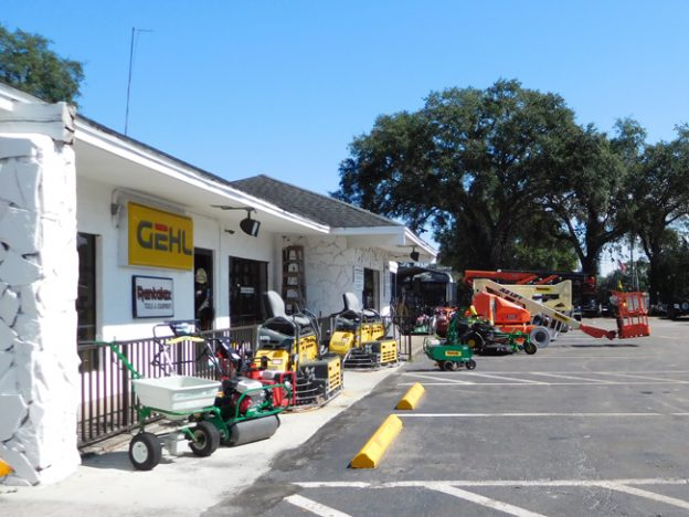 Rental equipment for improving your lawn.