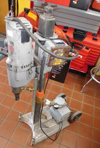 Milwaukee Core Drill w/Vac Pump