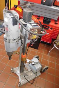 Milwaukee Core Drill w/Vac Pump