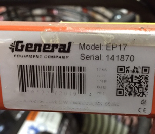 General Model EP17 PPV