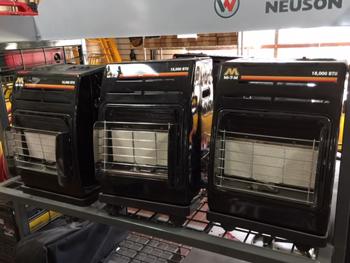 Propane Cabinet Radiant Heater Mi-T-M