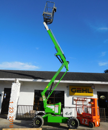 SP34DE 4x4 Self Propelled Boom Lift