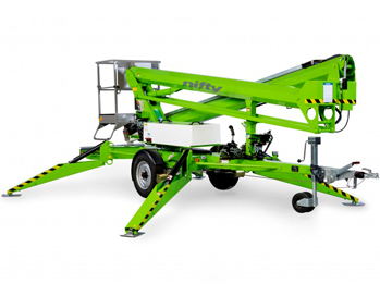 TM50 Trailer Mounted Cherry Picker