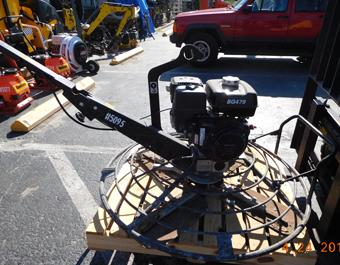 48in Concrete Trowel Machine