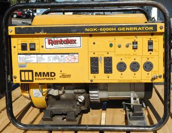 6000 Watt Honda Generator