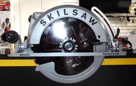 6-5/16In Magnesium Super SAWSQUATC Worm Drive Saw
