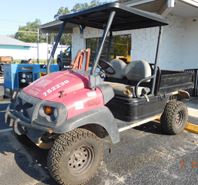 Club Car 4x4 Utility Vehicle