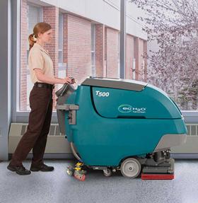 Tennant T500E Walk-Behind Floor Scrubber