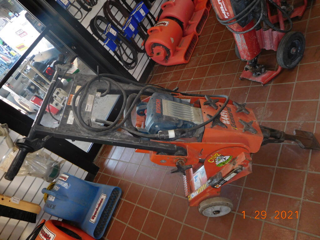 General CTS12 Ripper Stripper With Bosch Demo Hammer and Bits