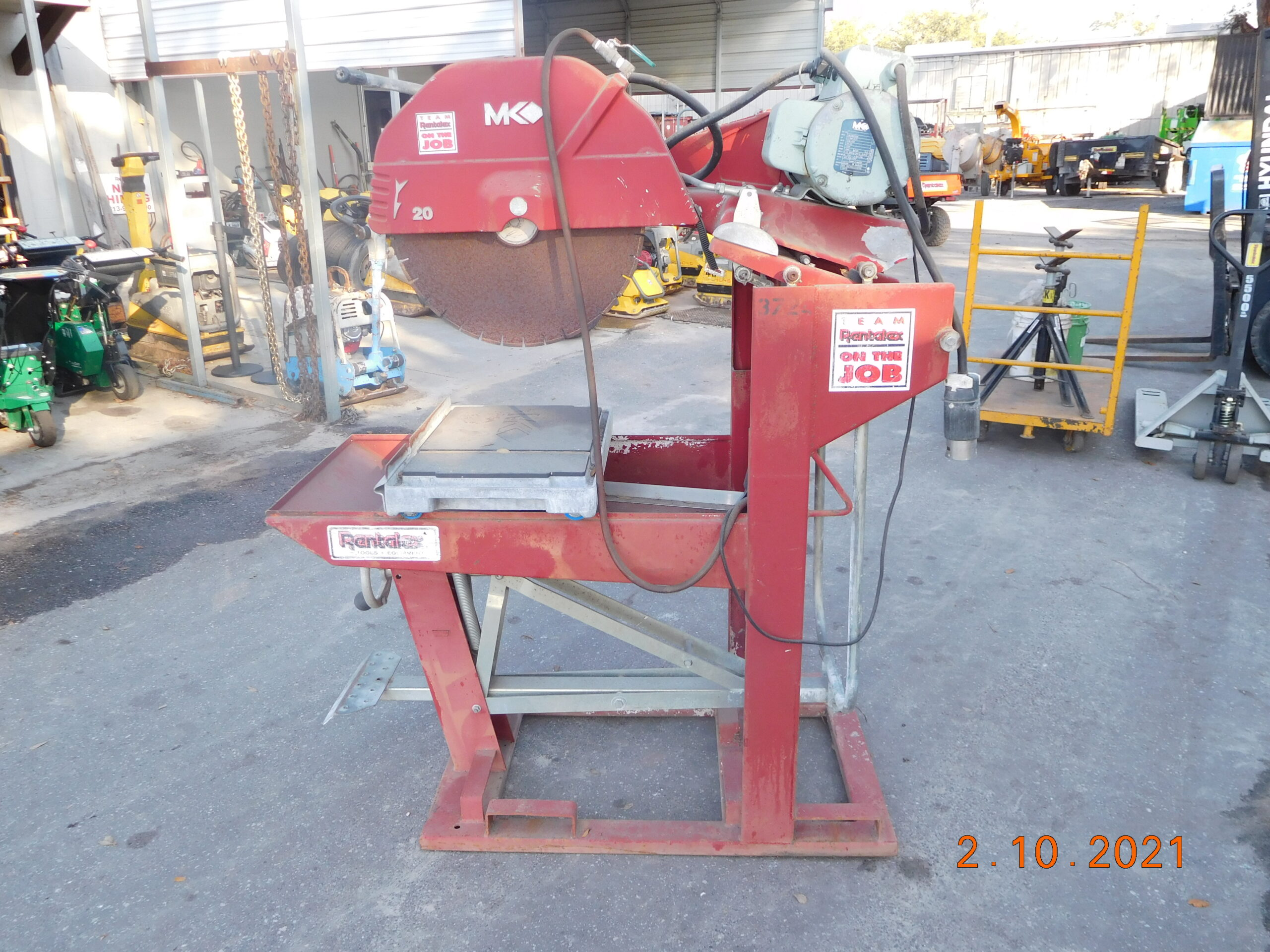 MK Model MK-5005S Table Saw For Sale