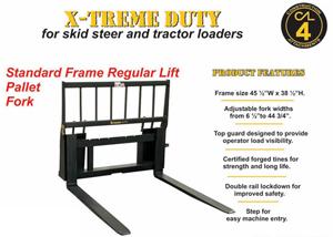 Xtreme Duty Pallet Fork 1PF48