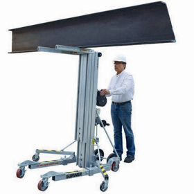 Sumner 783067 2615 Axel Heavy Duty Contractor 1100lb 15ft Material Lift
