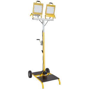 Portable cart light LED 44,000 Lumens 400 Watt