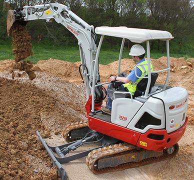 TB225 Compact Excavator