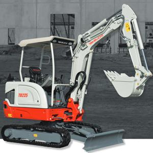 Takeuchi TB225R excavator