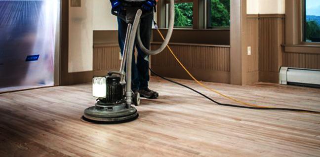 Floor Re-Finishing Equipment for DIYers